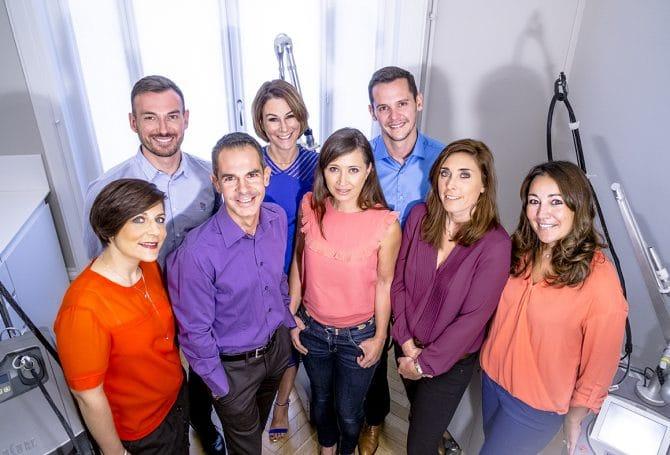Equipe médicale du Centre Esthétique Lyon
