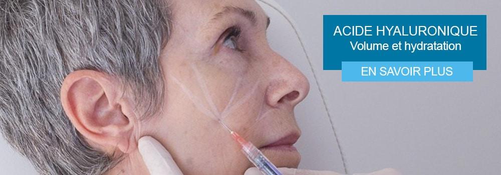 L'acide hyaluronique améliore la qualité de la peau