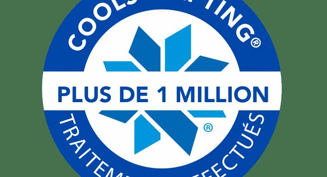 4 millions traitements CoolSculpting